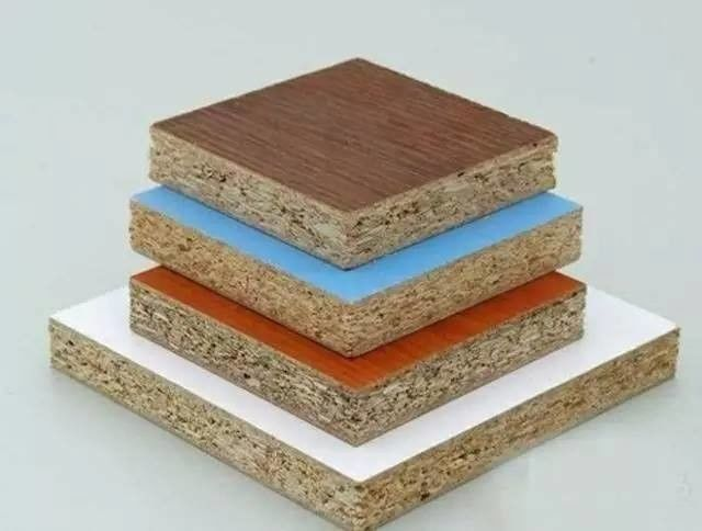 Melamine Faced Particle Board Laminate Finish , Matt Surface 4x8 Sheet Of Particle Board
