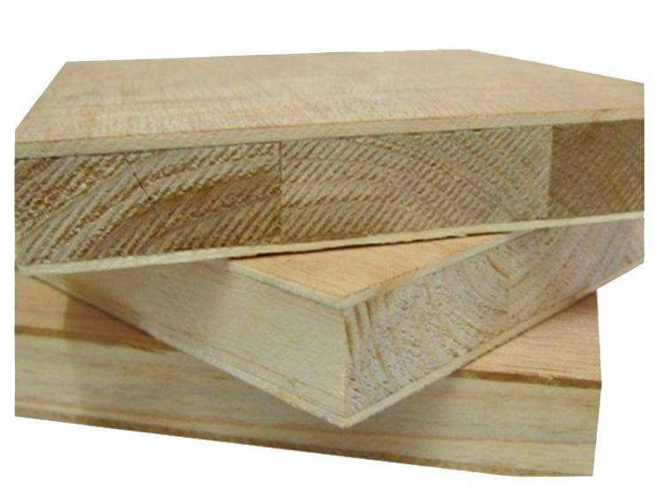 Standard Size 4*8 Paulownia Core 25mm Blockboard For Furniture Decoration