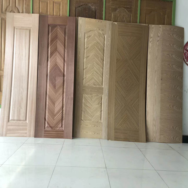 Wood Grain MDF Door Skin , Interior Door Skins With Different Designs